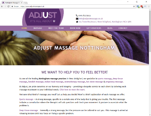 Adjust Massage